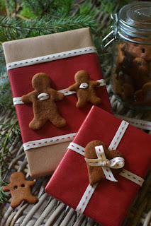 confezionare i regali di natale con i biscotti
