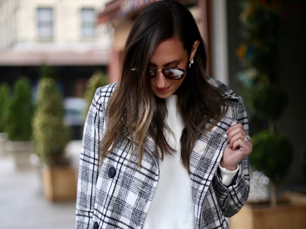 Plaid Coats & After Holiday Sales