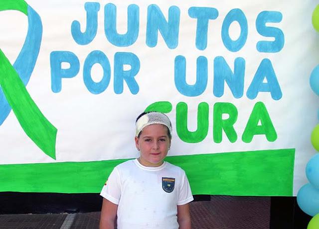 Iratxe Arjona, de nueve años, tiene Hipertensión..
