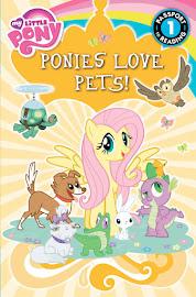 MLP Ponies Love Pets Book Media