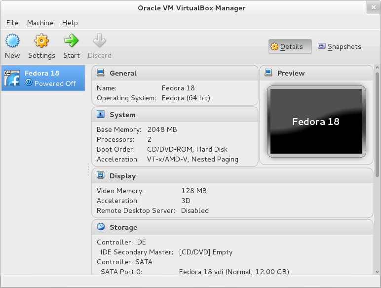 TechnoZeal: Install Fedora 18 on VirtualBox with Guest Additions