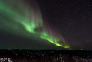 Aurora-Boreal-Norte-Luzes