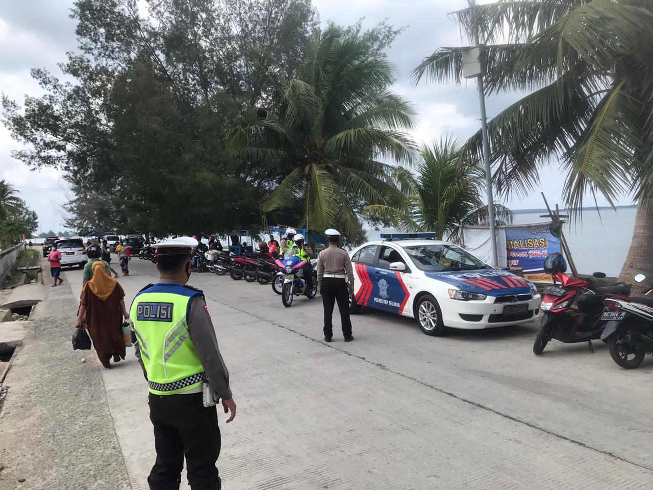 Hari Ke-2 Operasi Zebra di Selayar, Puluhan Pelanggar Ditindak dan 7 Kendaraan Diamankan Polisi