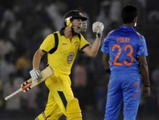 James Faulkner 64* - India vs Australia 3rd ODI 2013 Highlights