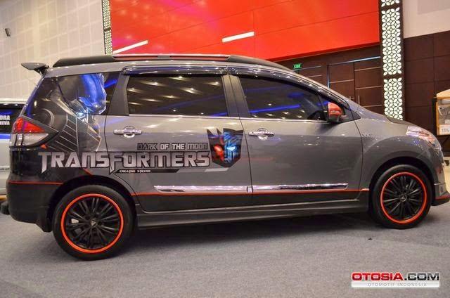 Modifikasi keren Suzuki ertiga matic 2014