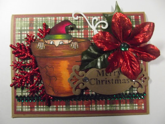 My Card for Christmas Challenge on Seemacrafts.