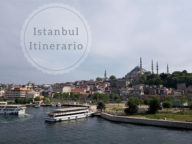 Istanbul itinerario di 4 giorni: veduta della moschea di Solimano