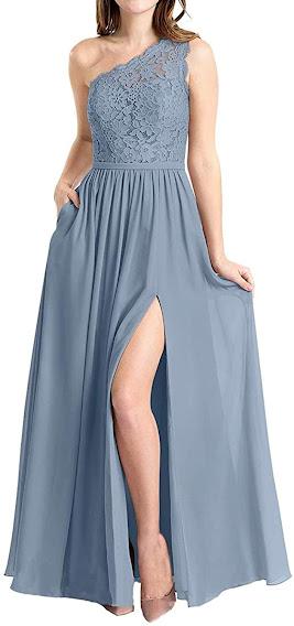 Best Quality One Shoulder Chiffon Bridesmaid Dresses