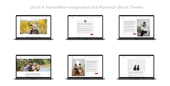 Best A Newsletter-Integrated and Personal Ghost Theme