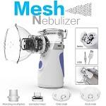 Portable Mesh Nebulizer Alat Uap Bantu Pernafasan Asma Inhalasi YM 252