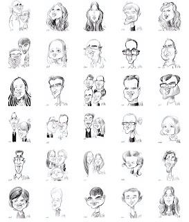 Caricature, la récolte des 10h d'animation sur tablette numerique ©Guillaume Néel