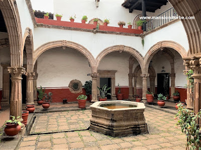 The House of the Eleven Patios in Pátzcuaro, Michoacán