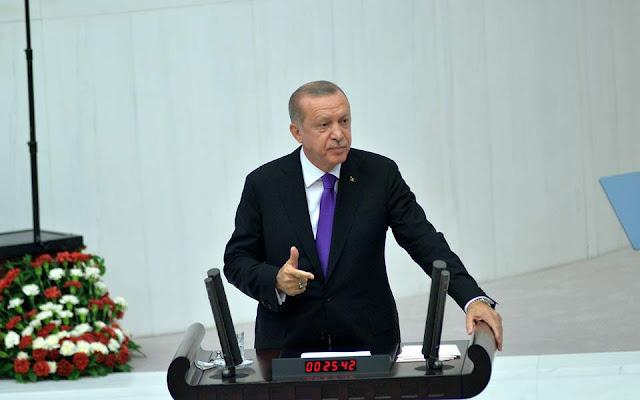 Ερντογάν για Συρία: Αναζητούμε λύση με τους πολίτες, όχι με την κυβέρνηση