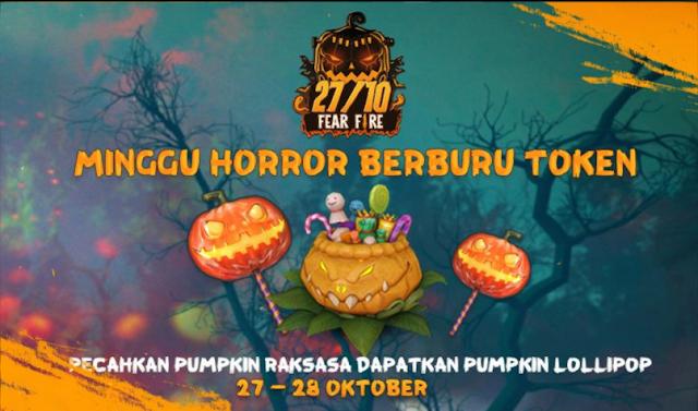 Cara Mendapatkan Pumpkin Candy 27 Oktober Peak Day Event Halloween FF