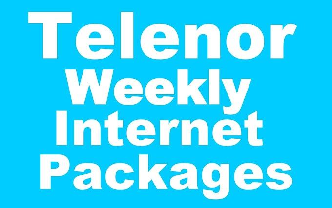 Telenor Weekly Internet Packages - Price & Details