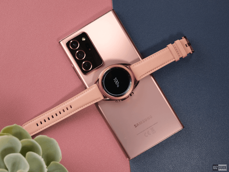 Galaxy Watch3 on the Note20 Ultra 5G