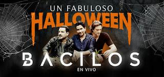 UN FABULOSO HALLOWEEN con BACILOS en concierto…