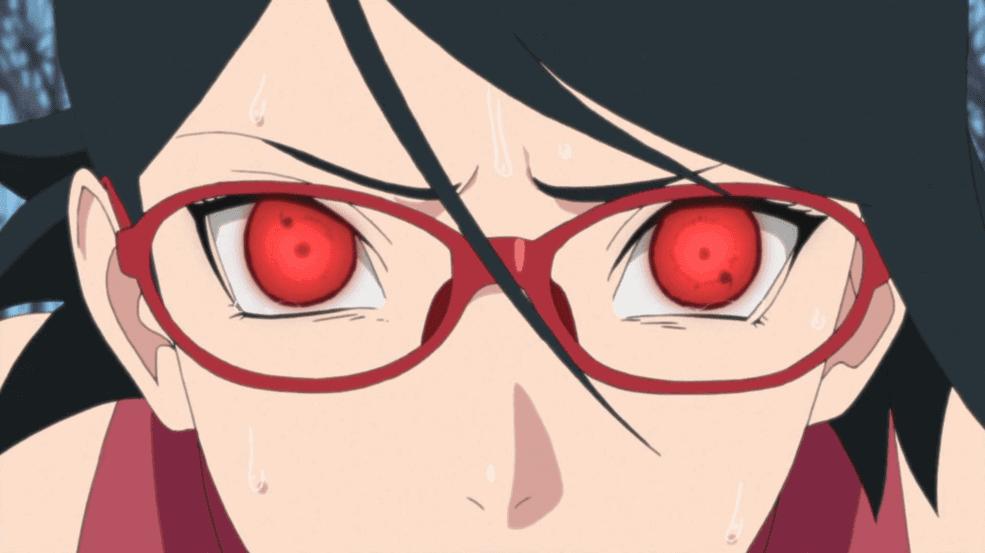 Bukan Konoha, Lalu Dimana Sarada Dilahirkan? Kenapa Sarada Memakai Kacamata?