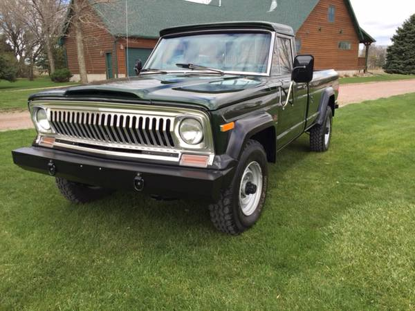 Daily Turismo: Mean, Green and Clean: 1974 Jeep J20 Pickup