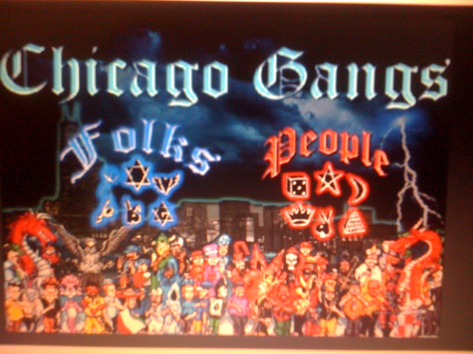 Street gangs in Chicago, Illinois