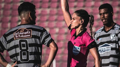 Árbitra Sergipana vai apitar amistoso entre Brasil x México