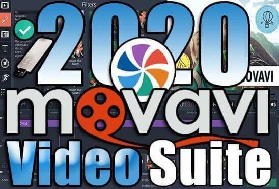 تحميل برنامج Movavi Video Suite 20.4.1 Portable اخر اصدار نسخة محمولة مفعلة