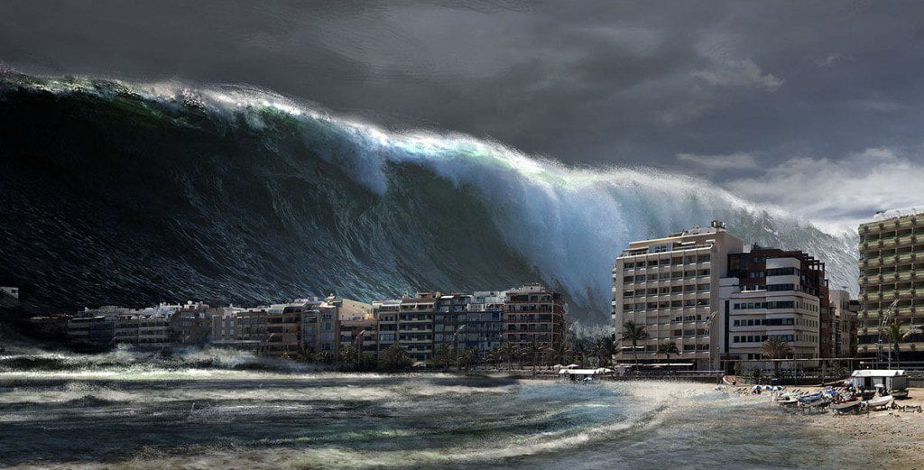 cientificos temen se repita potente mega tsunami de la