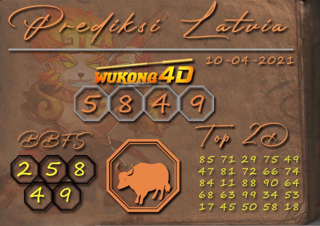 PREDIKSI TOGEL LATVIA WUKONG4D 10 APRIL 2021