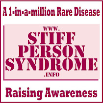Bringing AWARENESS to Stiff Person Syndrome - a 1 in a MILLION disease! This is my life!