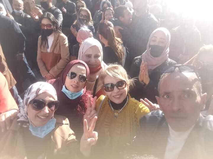 هنا نابل/ الجمهورية التونسيةيوم الغضب لاعوان العدلية16 ديسمبر 2020