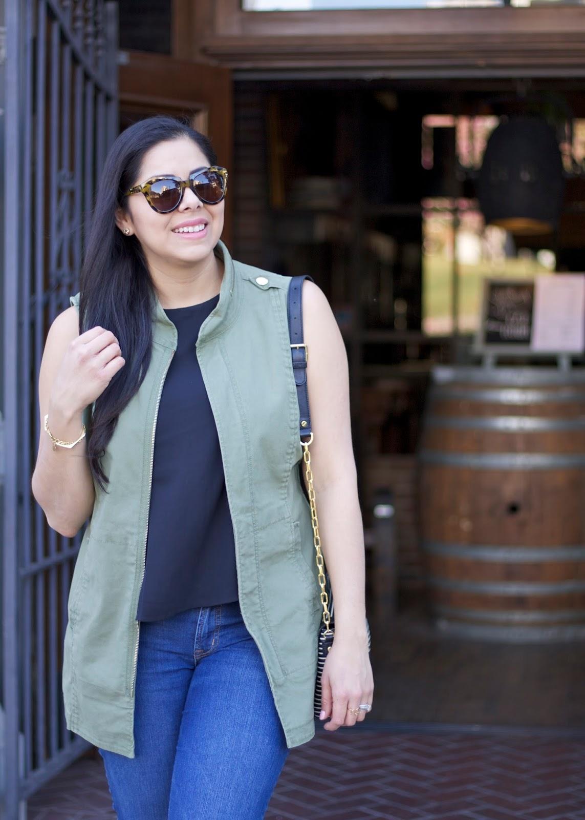 karen walker sunglasses, brunette blogger, mexican fashion blogger, socal fashion blogger