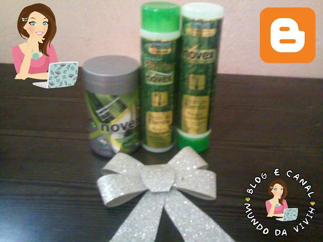Resenha Kit NOVEX Broto de Bambu + Creme de Tratamento