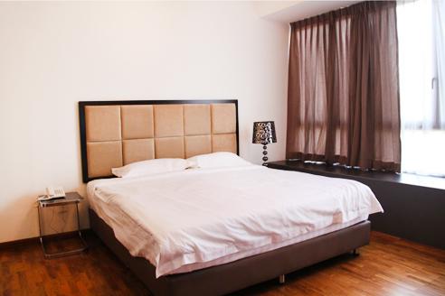 Fortville Studio C Bedroom