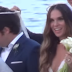 Poμαντικός γάμος στη Μύκονο (video)