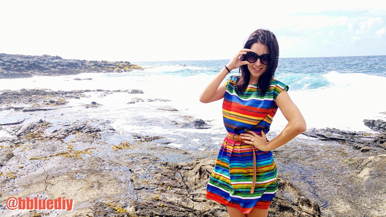 Vestido DIY fácil y sin patrones, en 5 pasos! | B. Blue DIY