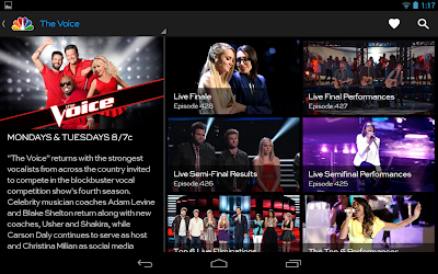 NBC app for Android