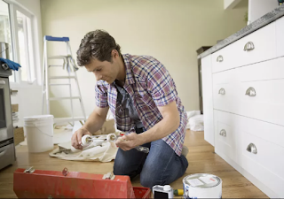 Hvordan male et kjøkken