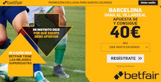 betfair supercuota Barcelona gana a Villarreal 24 septiembre 2019