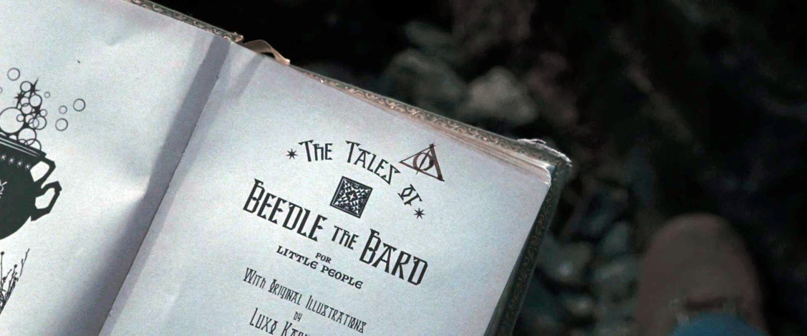 """Scholastic anuncia sua própria edição ilustrada de """"Os Contos de Beedle, o Bardo""""."""