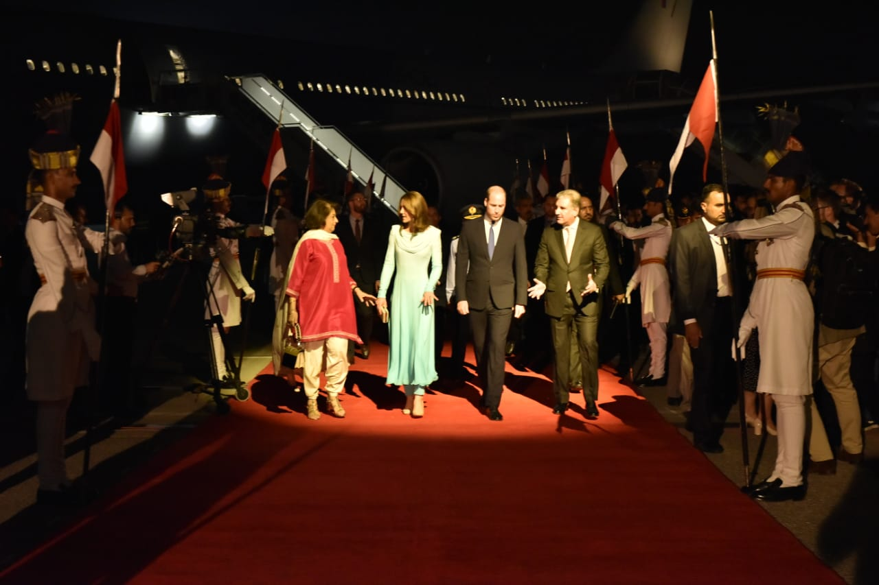 William and Kate's arrival in Islamabad this evening marks their first official visit to the Islamic country