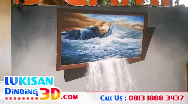 Jasa 3D Painting, Lukisan 3D, 3D Painting Wall, 3D Painting Floor, 3D Painting Jakarta, 3D Painting Bandung, Mural Painting, Mural 3D, Jasa Mural, Wall 3D Painting