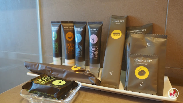Novotel Fair Trade Amenities