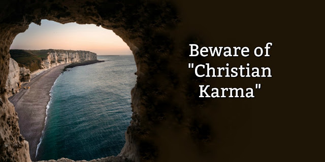 """We need to accurately understand what the Bible teaches because many Christians have adopted a false belief I call """"Christian Karma."""" This 1-minute devotion explains."""
