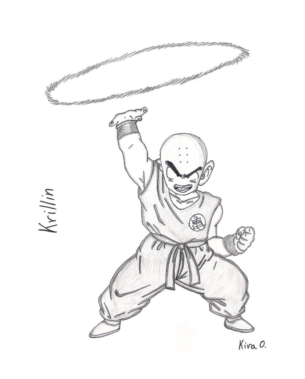Krillin Pages Coloring Pages