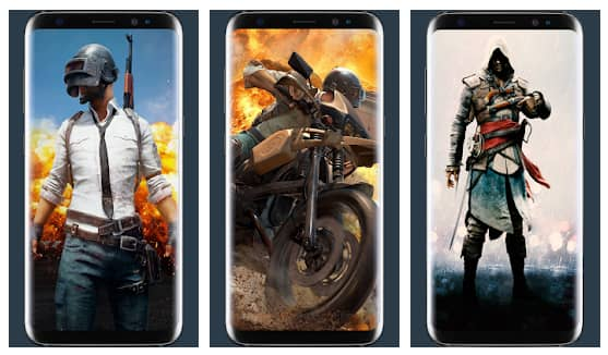 best wallpapers app for pubg mobile