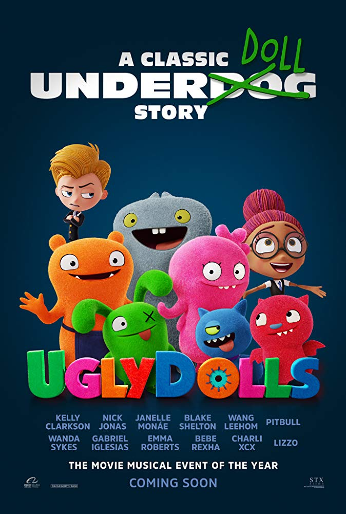 "Movie Review: ""UglyDolls"" (2019)"