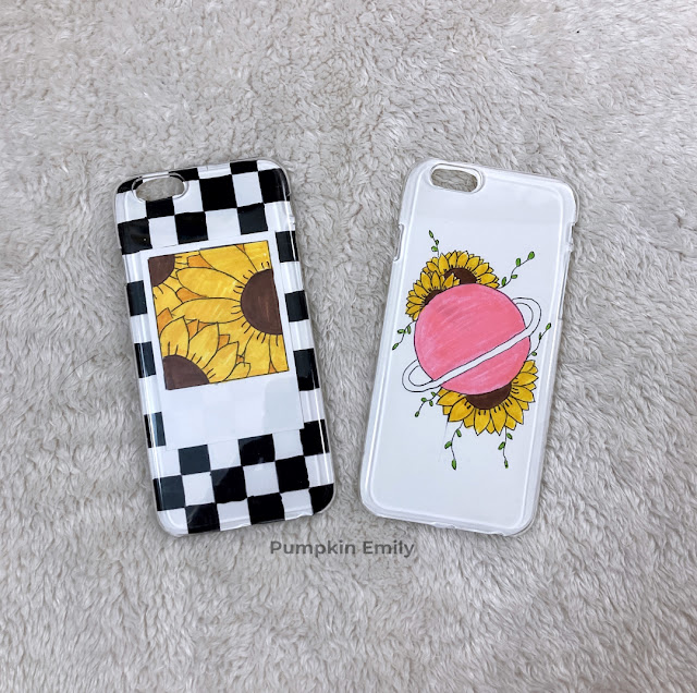 2 DIY aesthetic phone case ideas