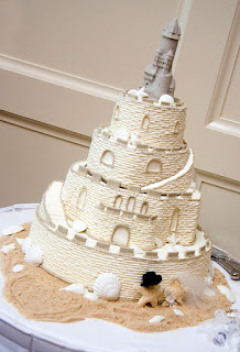 Beach Wedding Cake Toppers