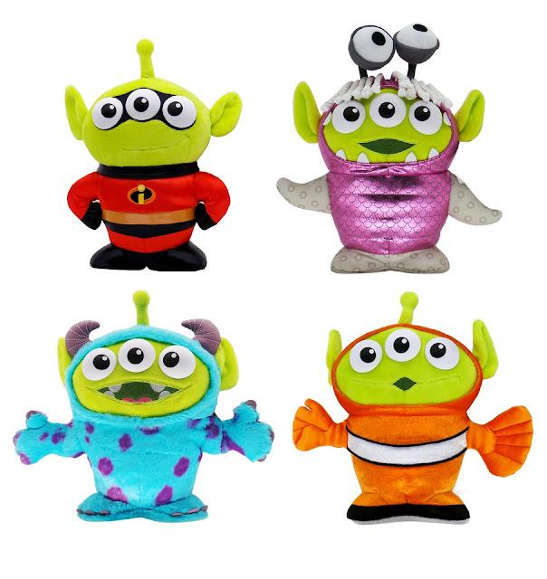 Pixar Fest Alien Remix Plush Toys
