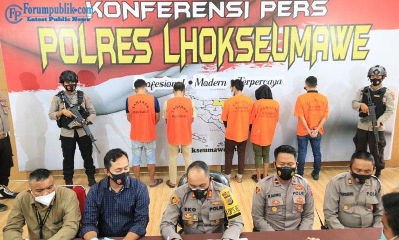 DPO Kasus Narkotika Polda Kepri di Tangkap Polres Lhokseumawe